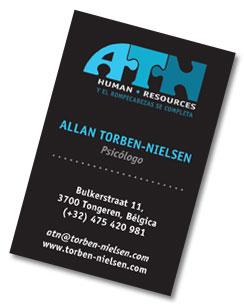 Allan tarjeta de negocios